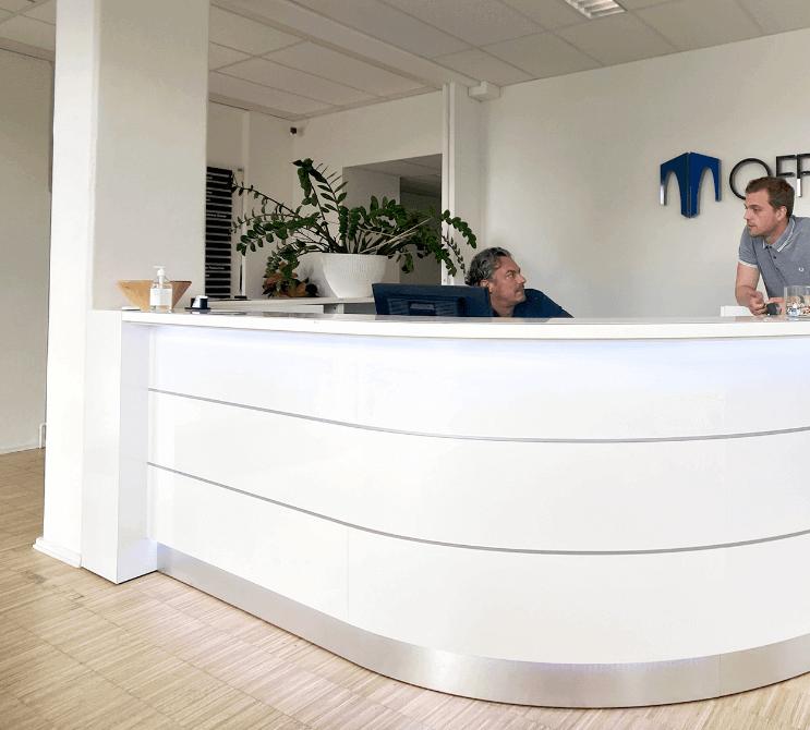 officehotel valby reception Nem Media